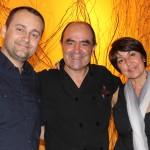 Ronnie, Krista & Chef Gorji