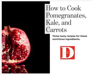 Chef Gorji Pomegranate Recipe In DMagazine