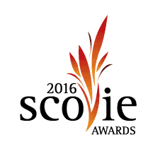 Scovie Awards flame logo