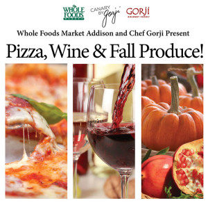 Pizza, Wine & Fall Produce