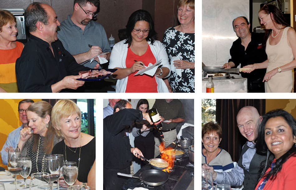 Cooking technique classes at Gorji Restaurant