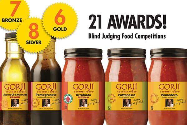 Gorji Gourmet Wins 21 Awardsi