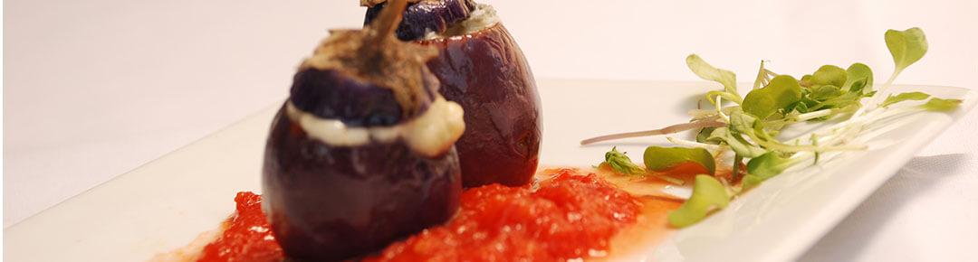 new mediterranean cuisine eggplant appetizer