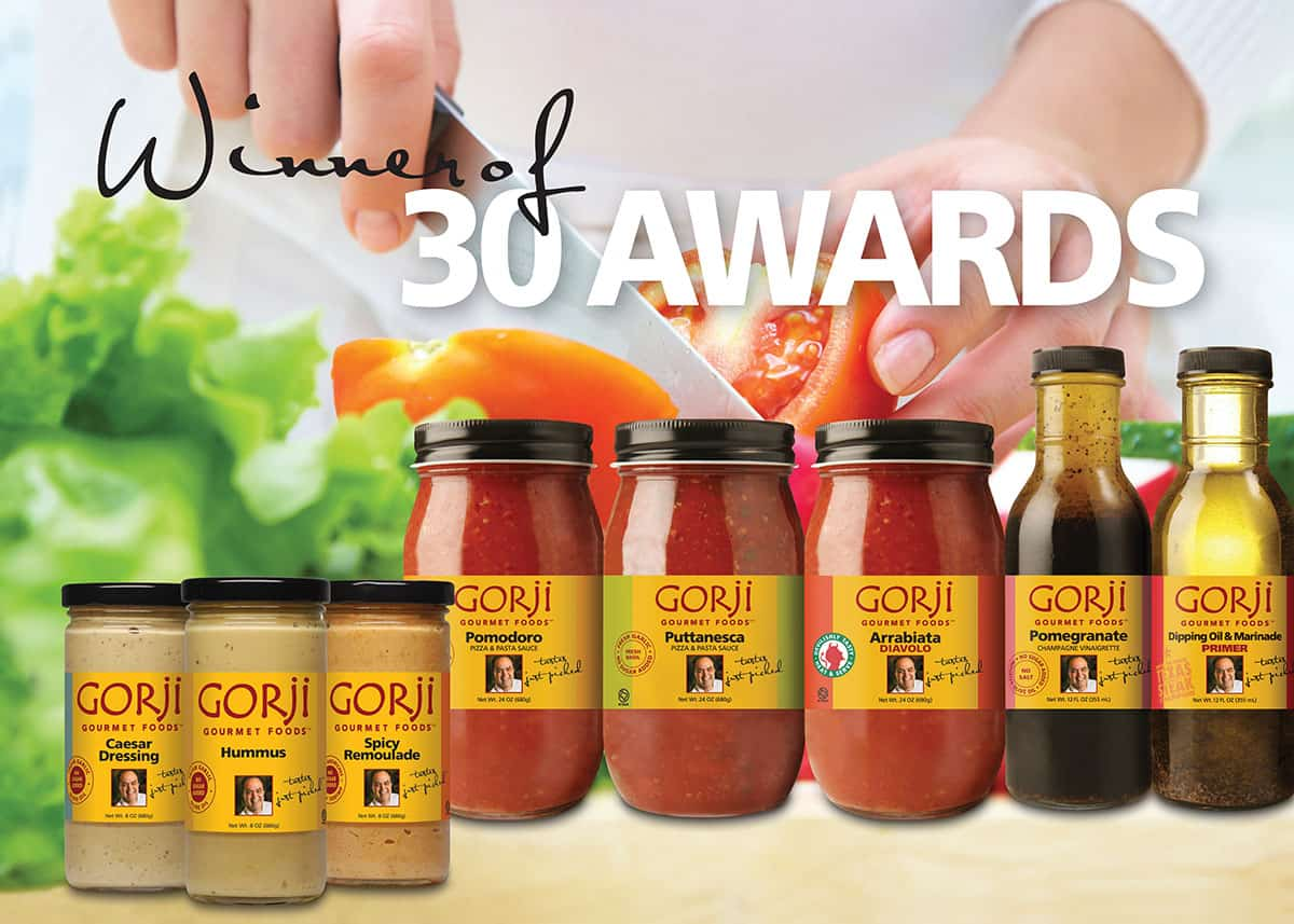 30 Gorji Gourmet food competition awards