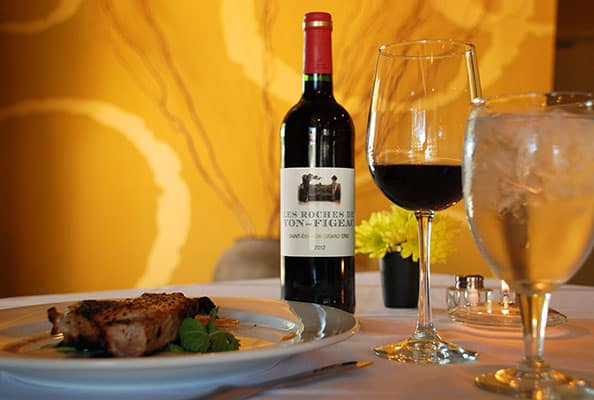 Wine Table Setting