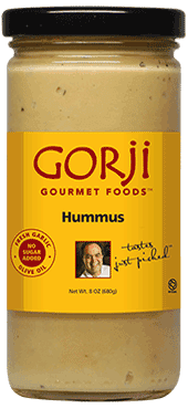 Gorji Gourmet Foods Hummus available for pickup in Dallas, TX.