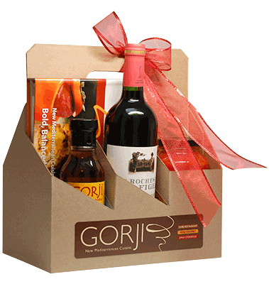 5 Gorji Gourmet Sauces & Wine Gift Packs available for pickup in Dallas, TX