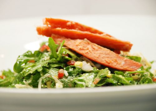 Gorji Smoked Salmon Salad