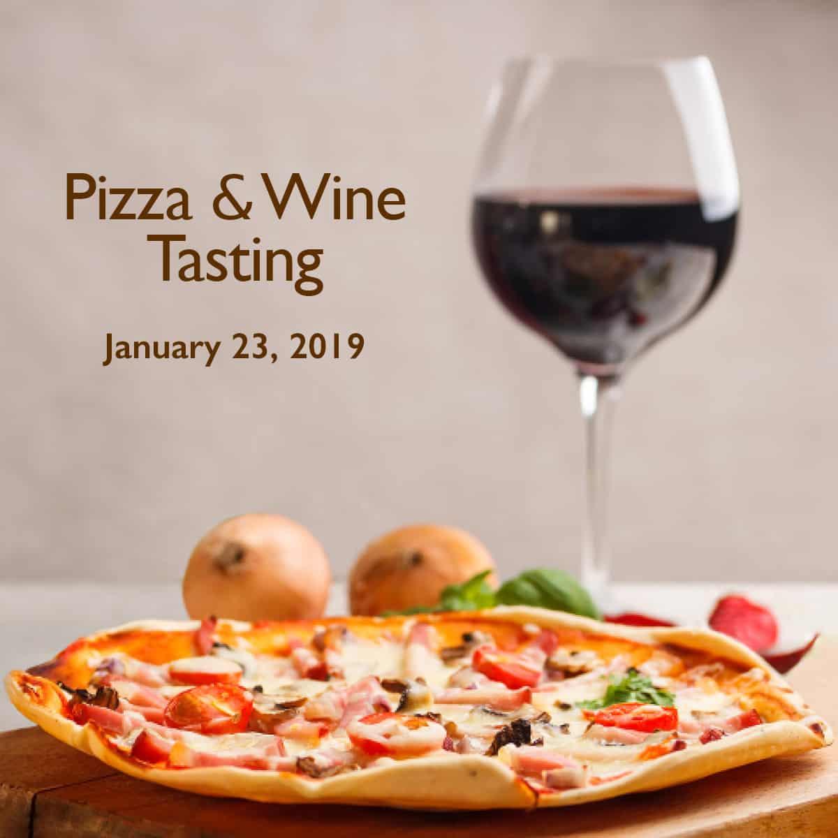 Gorji wine tasting and pizza.