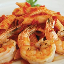 Arrabiata Penne Shrimp