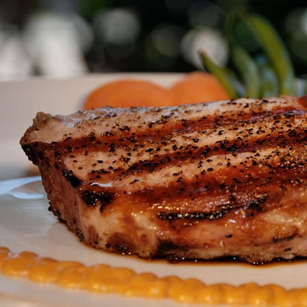 Remoulade with Pork Chop