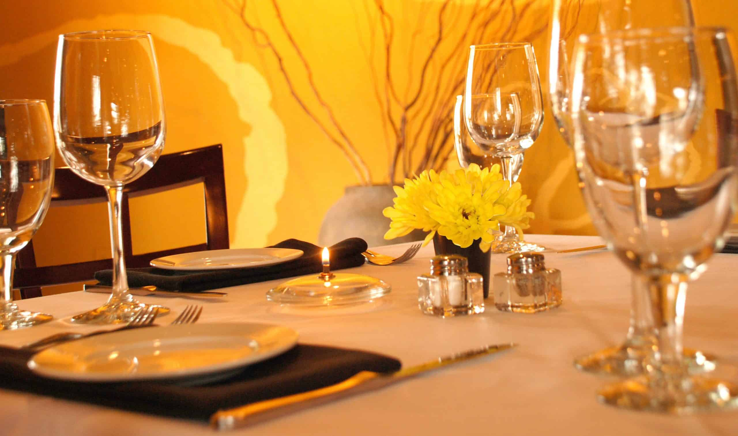 Thrillist romantic restaurants in Dallas.