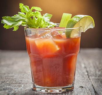 Bloody Mary made with Gorji Gourmet Sauces