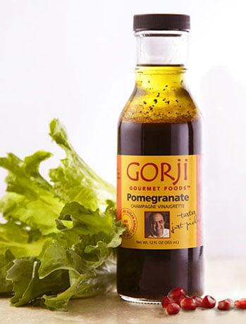 Pomegranate Vinaigrette, a Gorji Gourmet Sauce