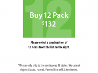 Buy 12 Pack Large