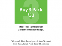Buy 3 Pack Large