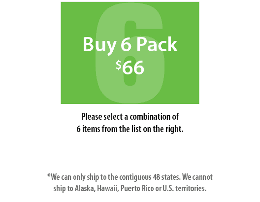 Buy 6 Pack Large