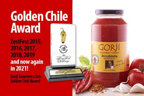 gorji gourmet golden chili award 2021